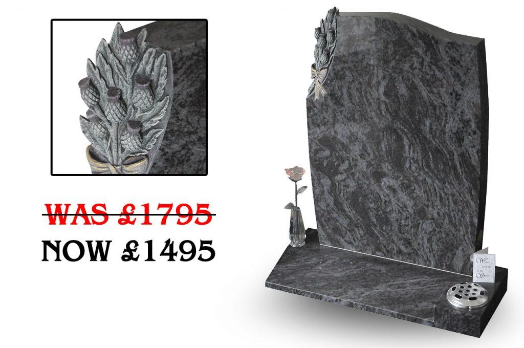 Belle Lapidi Headstone offer